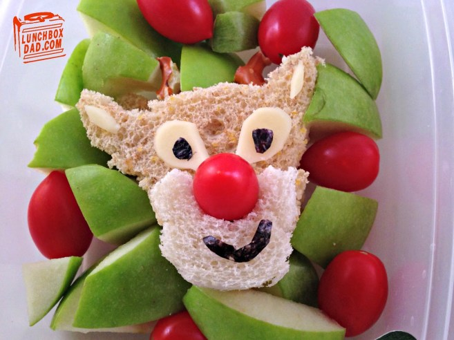 Rudolph-The-red-nosed-reindeer lunch