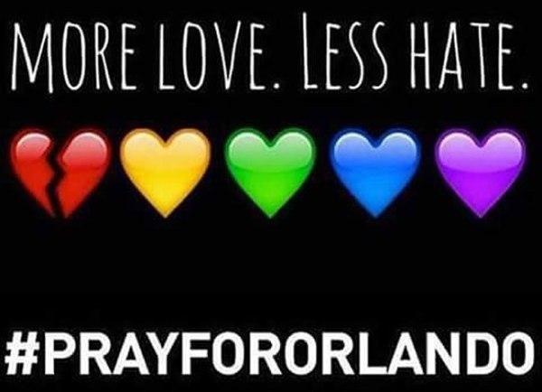 Orlando shooting #prayfororlando