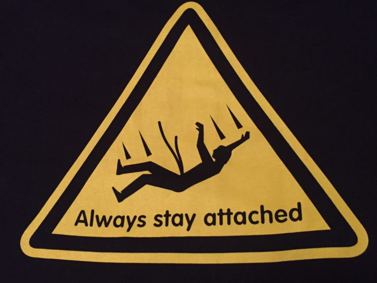 always stay attached grandparents sign