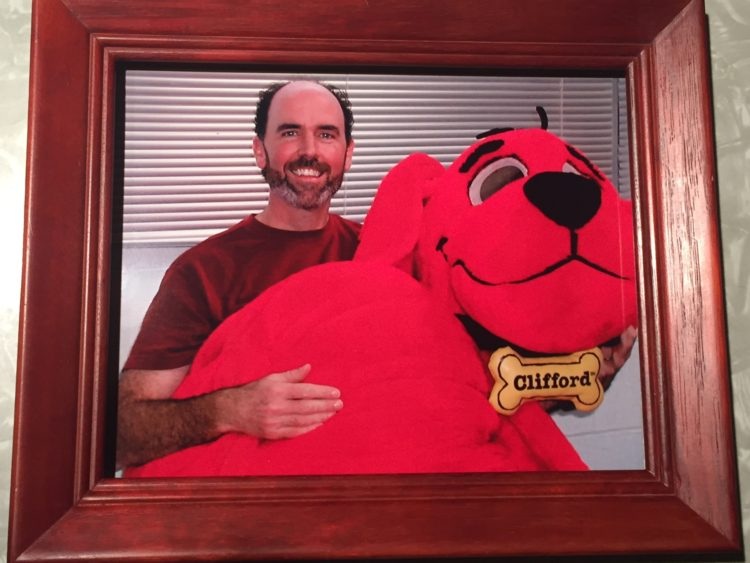 parental costume Clifford the Big Red Rog