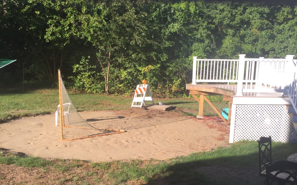 "A pool removed from a back yard can seem like an ""emotional crime scene"" for an overstimulated parent."