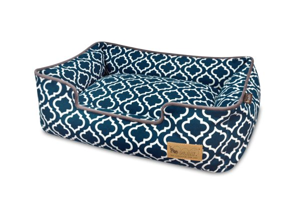 Moroccan Lounge Bed Navy