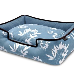 Bamboo Lounge Bed Ocean Blue