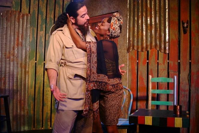 Mr. Harari (Lito Tamez) and Josephine (Shronda Major)