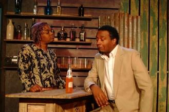 Mama Nadi (Chalethia Williams) and Christian (Cecil Washington, Jr.)