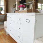 A Vintage Buffet Becomes Storage For Family Room City