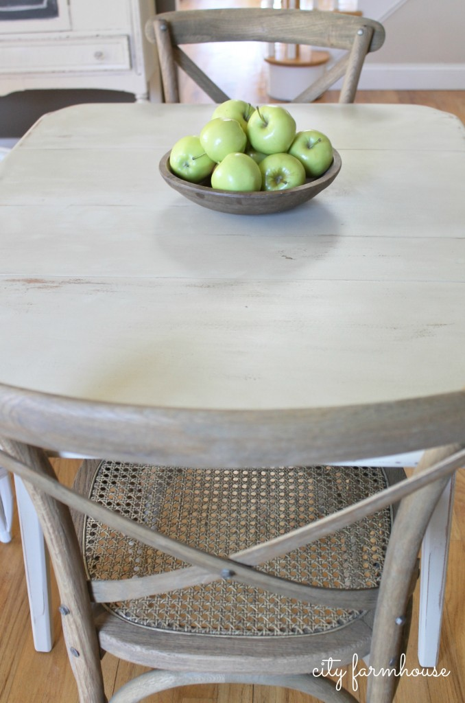 nook style kitchen table formica countertops budget friendly eating reveal - city farmhouse
