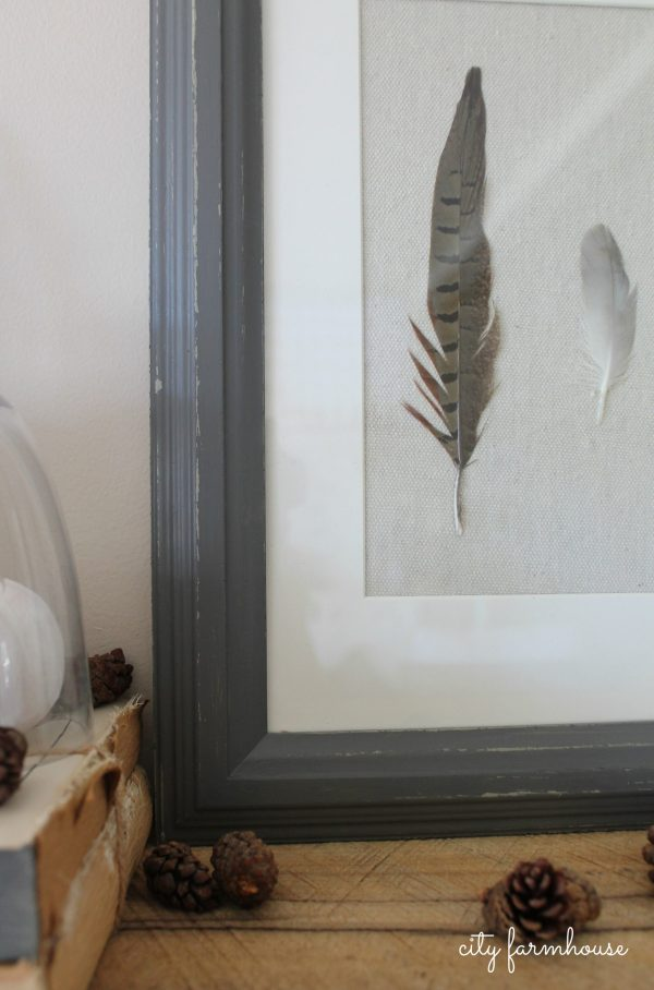 Diy Feather Art-collect & Create With Love - City Farmhouse