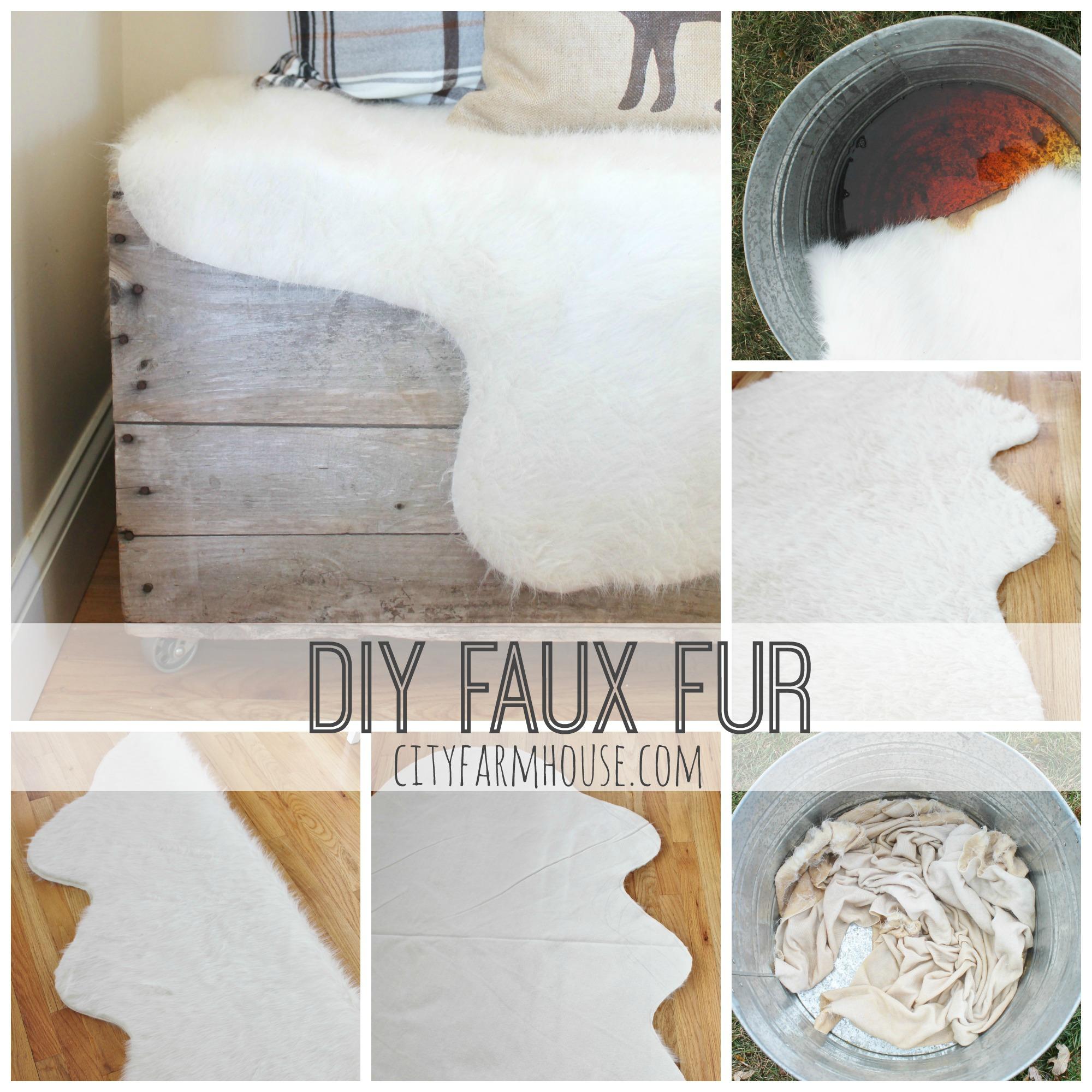 Easy Diy Faux Fur Rug Amp Fa La La Free Printable