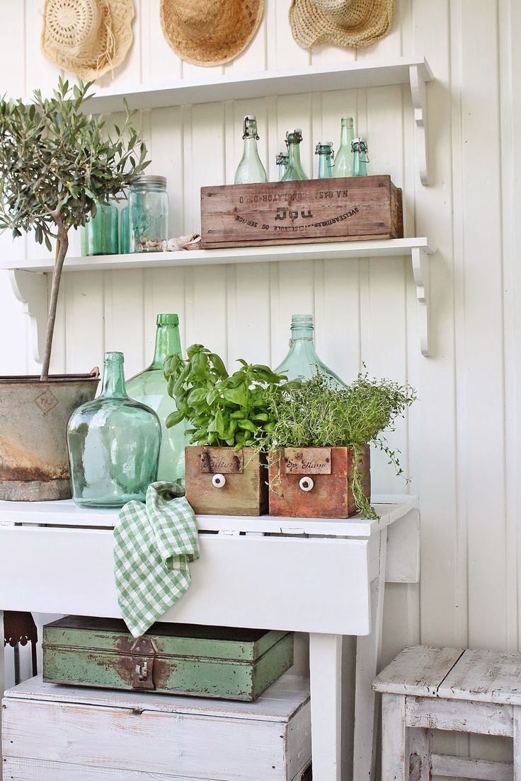 Vintage StyleDecorating With Demijohns  BHG Style Spotters