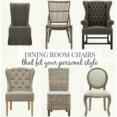 Farmhouse Dining Chairs Red Club Chair And Ottoman Room That Fit Your Personal Style City