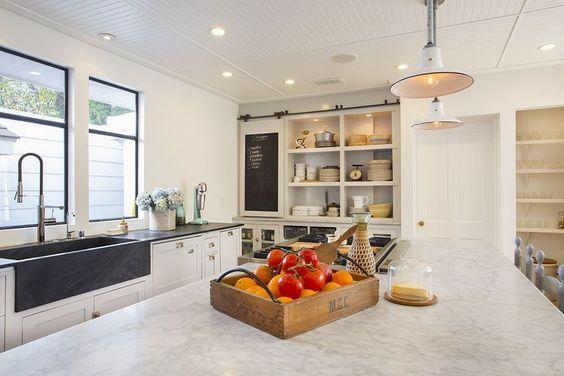 kitchen island marble top blanco sinks 6 great alternatives to carrara - city farmhouse
