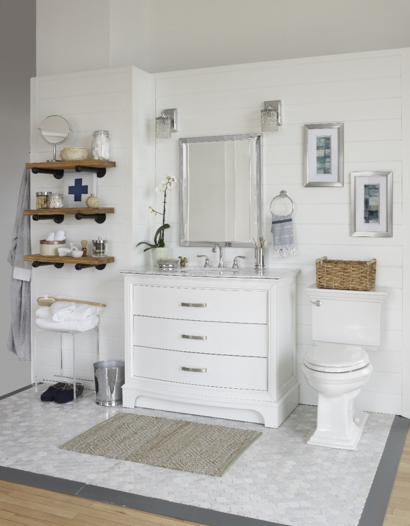 A Modern Rustic Bathroom Reveal  City Farmhouse