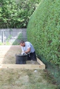 Create A DIY Pea Gravel Patio The Easy Way - City Farmhouse