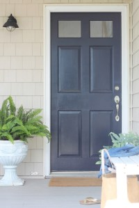 Front Door Makeover-It's Amazing What Paint Can Do - City ...