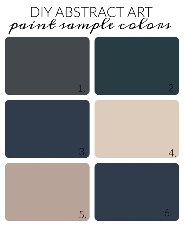 Sherwin-Williams Paint Samples