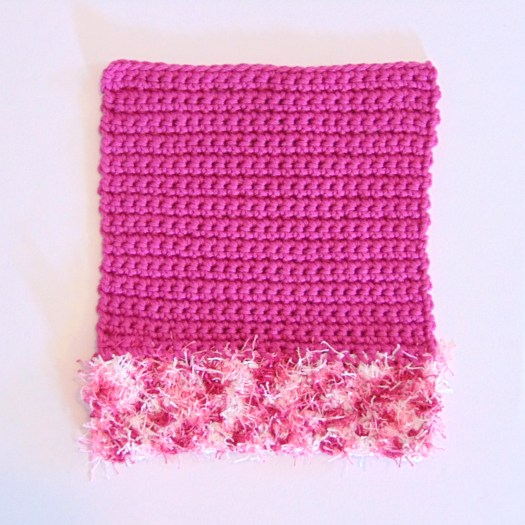 Double Duty Scrubber Free Crochet Pattern by www.CityFarmhouseStudio.com