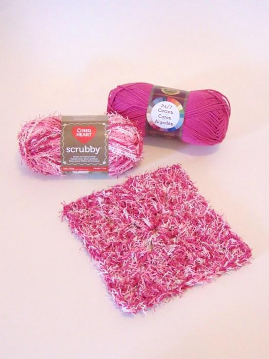 Waffle Scrubber a free crochet pattern by www.CityFarmhouseStudio.com