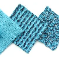 Crochet Dish Cloth Trio