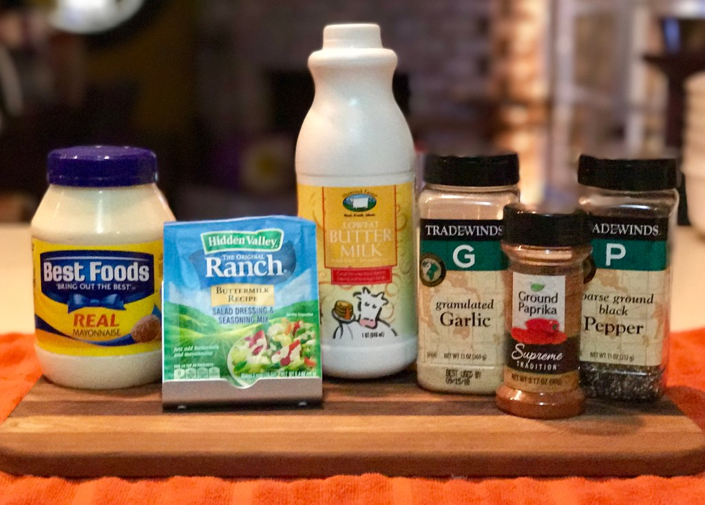 make Homemade Buttermilk Ranch Dressing