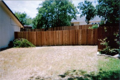 1x4x6' Cedar Privacy Fence