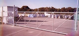 25' Cantiliver Gate Fencing