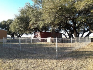4' Tall Chain Link Fencing