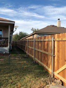 Privacy Fencing 1 x 6 x 6' Cedar