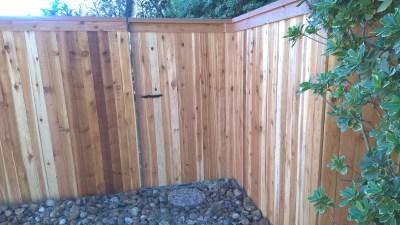 1x4x6' Cedar Cap & Trim Fencing