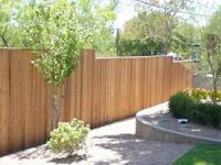 1x4 Cedar Privacy Fencing