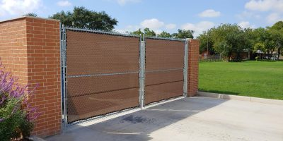 8' Tall Commercial Chain Link Fencing