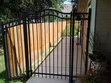 Orn. Iron Gate Fencing