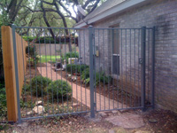 Ornamental Iron Gate Fencing
