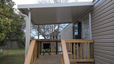 Structall Aluminum Porch Cover