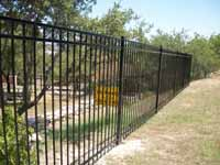 6' Tall Ornamental Iron Fencing