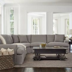 Gray Living Room Sets Black And Gold Furniture City Furniture: Delilah Fabric Large Two-arm Sectional