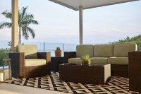 City Furniture: Fina Teal Outdoor Living Room Set