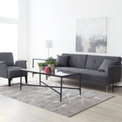 Dark Gray Sofa West Elm Tillary Reviews Amani Futon Living Room Sofas And Couches