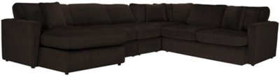 dark brown sectional sofa chaise stamp tara2 microfiber left