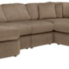 Beige Microfiber Sectional Sofa With Storage Chaise Cushion Covers 24x24 Tara2 Dark Taupe Left