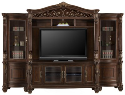 City Furniture Tradewinds Dark Tone 70 TV Stand