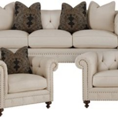 Bernhardt Riviera Large Sofa With Pillows Home The Honoroak