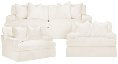 white sofa fabric sure fit stretch metro 1 piece slipcover gray sofas modern contemporary ikea