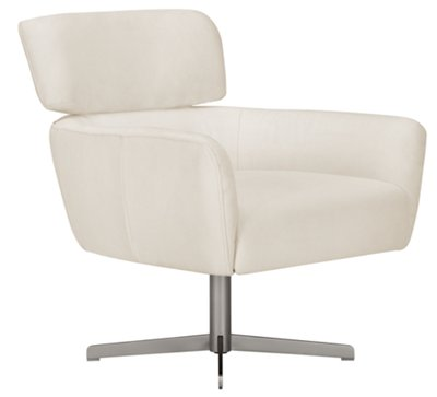 accent chair swivel relax the back mobility lift city furniture giovanni white fabric