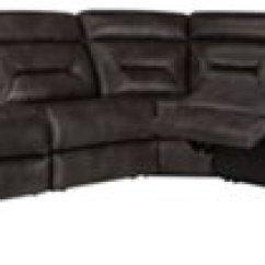 Gray Microfiber Power Reclining Sofa Cushion Covers Ikea City Furniture Phoenix Dk Large Two Arm