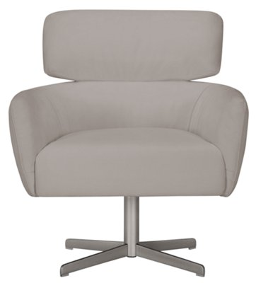 Light Gray Accent Chairs Wynn Light Gray Microfiber Swivel Accent Chair