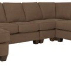 Dark Brown Sectional Sofa Chaise Corner Beds On Credit York Fabric Large Left