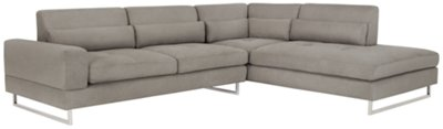 grey sofa chaise lounge reclining sectional sofas for small es gray thesofa
