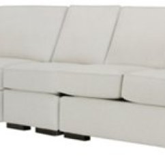 White Fabric Sectional Sofa With Chaise Reclining Set City Furniture Austin Small Left