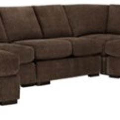 Dark Brown Sectional Sofa Chaise How To Clean Stains Off Cloth Belair Fabric Large Left